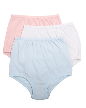 100% Cotton Cuff Leg Brief