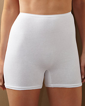 Cotton Straight Leg Panty