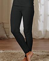 Cuddl Duds® Lace Trim Thermal Pants