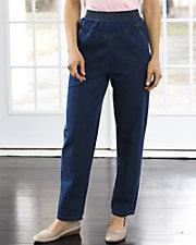 Slimming V-Yoke Jeans