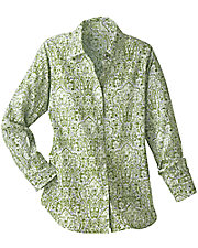 Abstract Paisley Shirt