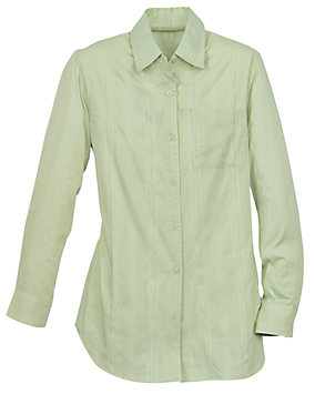 Textured Stripe Cotton Shirt