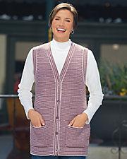 Birdseye Sweater Vest