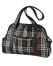 High Point Plaid Handbag