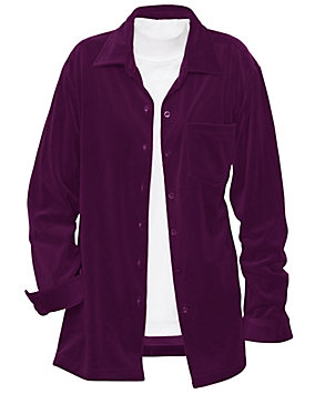 Velour Big Shirt