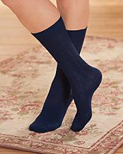 Merino Wool Blend Crew Socks