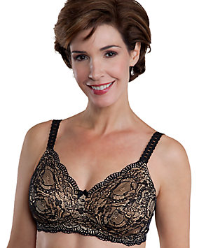 Scalloped Lace Mastectomy Bra