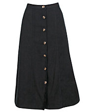 Suede-Soft Moleskin Skirt