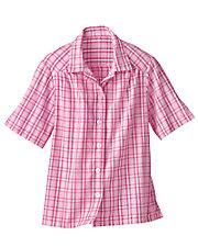 Plaid Seersucker Campshirt