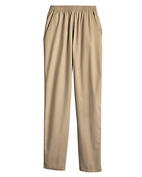 Cotton Twill Pull-On Pants