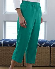 Comfort Waist Crop Pants