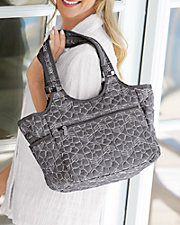 Patterned All Around Tote