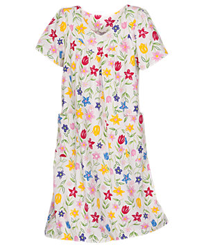 Summer Floral Lounge Dress