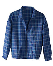 Plaid Seersucker Jacket