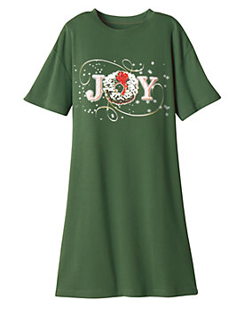 UltraSofts® Holiday Print Sleep Tees