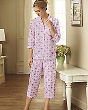 Woven Tailored Pajamas