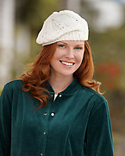 Crochet Knit Beret