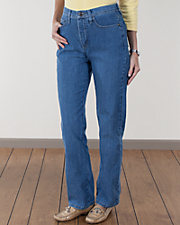 Classic Fit Marilyn Straight Leg Jeans