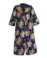 Navy Floral Models Coat®