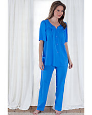 Embroidered Applique Pajamas