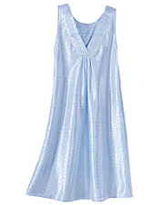 Embroidered Short Nightgown