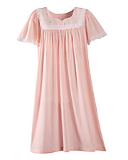 Batiste Scalloped Nightgown