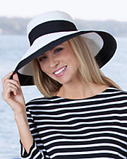 Lyndi Ribbon Trim Hat