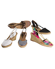 Biscayne Bay Wedge Sandals