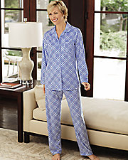 Plaid Microfleece Pajamas