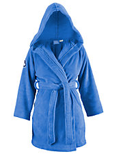 World's Softest Hooded Short Robe