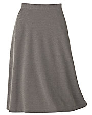 UltraSofts® Flat Front Skirt