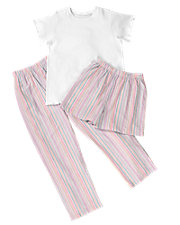 3 Piece-Pajama Set
