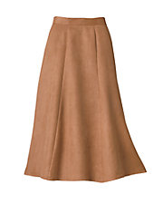 Poly Suede Skirt