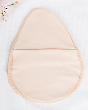 Oval Foam Breast Form Cover