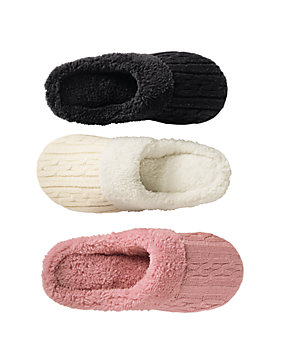 Dearfoams® Sweater Knit Clogs