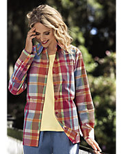 Citicraze Plaid Big Shirt