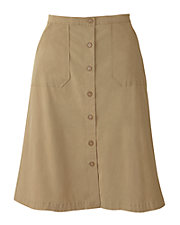 Essential Twill Skirt