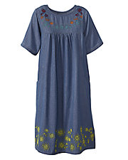 Tuscan Denim Dress