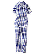 Eyelet Trim Pajamas
