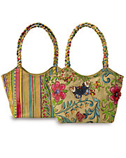 Canvas Butterfly Handbag