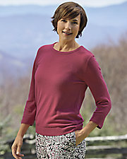 ¾ Sleeve Touch of Heaven Sweater