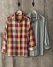 Yarn-Dyed Big Shirts
