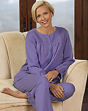 Smocked Knit Pajamas
