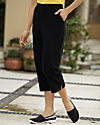 UltraSofts® Flat Front Cropped Pants