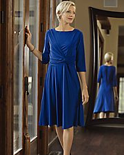 Flattering Side Knot Dress