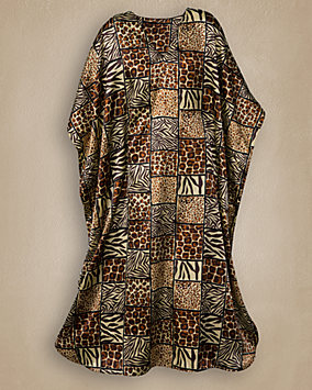 Beautiful Animal Print Caftan