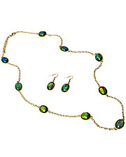 Classic Reflections Necklace & Earrings Set