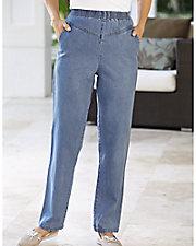 V-Yoke Slimming Jeans