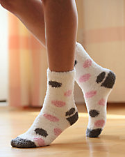 Cozy Cloud Crew Socks