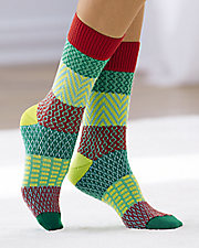 Whimsical Gallery Crew Socks